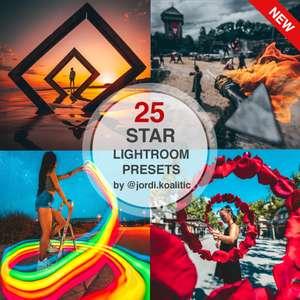 Pack de 25 presets para Photoshop y Lightroom de Jordi Koalitic