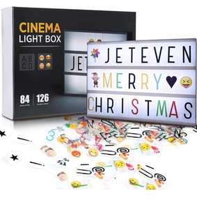 Caja de Luz A4 con 210 Letras