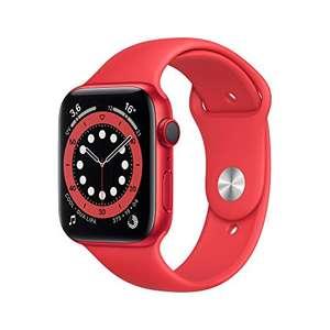 Apple Watch Series 6 (GPS + Cellular, 44 mm) Caja de aluminio (PRODUCT)RED - Correa deportiva (PRODUCT)RED