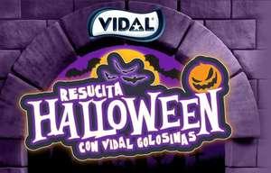 15% EXTRA + envío gratis en los packs de chuches Halloween VIDAL GOLOSINAS