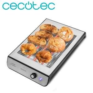 Cecotec Tostador Plano Turbo EasyToast Inox 900W (Disponible 14 Oct.)