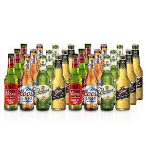 La Sagra - Pack degustación Lager, 24 cervezas del mundo