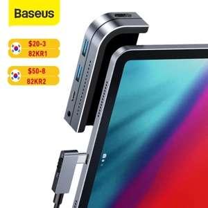 Baseus HUB 6 en 1 para el móvil USB tipo C (Desde España)