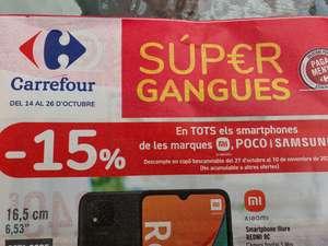14 de octubre, Super Gangas Carrefour