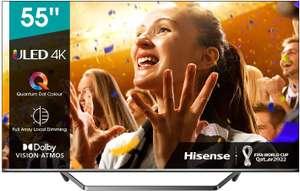 """TV HISENSE 55"""" 55U7QF ULED Quantum Dot"""