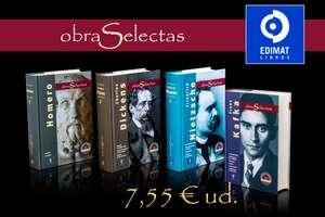 OBRAS SELECTAS EDIMAT por 7,55€ cada tomo