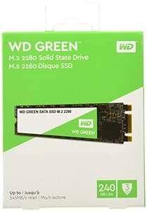 Western Digital WD Green - Internal SSD M.2 SATA, 240 GB
