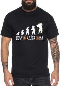 Camiseta WhyKiki Super Son Goku Evolution