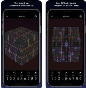 Sudoku Evolved - 3D Puzzles, Invaders mini,8bitWar: Apokalyps [IOS]