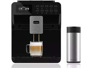 Cafetera superautomática - Cecotec 1505 Power Matic-ccino 7000, 1.7 L, Molinillo integrado, 1500 W, Negro