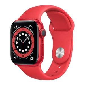 Apple Watch Series 6 GPS 40mm Caja de aluminio rojo correa deportiva roja EU
