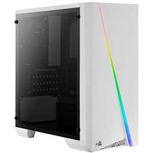 Aerocool Cylon Mini, caja PC Micro ATX blanco RGB 13