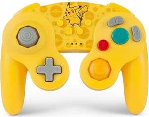 Pokémon mando inalámbrico Nintendo Switch estilo GameCube Pikachu