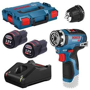 Atornillador a batería Bosch Professional 12V System GSR 12V-35 FC + 2 baterías x 3.0 A/h