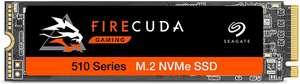 Seagate FireCuda 510 Gaming SSD, 500 GB, SSD Interna, NVMe 1.3, 3450 MB/s, 3D TLC NAND, PCIe Gen3 x4