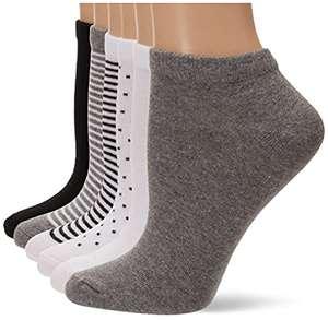 6 pares de calcetines tobilleros talla 36'5 - 39'5