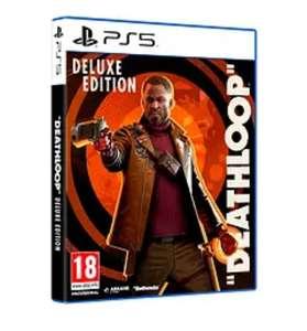 PS5 Deathloop Ed. Deluxe tb en Amazon