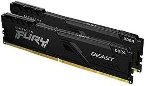 Kingston FURY Beast 16GB (2x8GB) 3200MHz DDR4 CL16