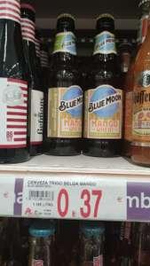 Cerveza Blue Moon Mango Wheat 5,6% alc. (Visto en Alcampo Pío XII Madrid)