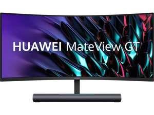"""Monitor gaming - Huawei MateView GT Soundbar, 34"""" WQHD, HDR10, 4000:1, 4 ms, 165 Hz, HDMI, DP, USB-C, Black"""