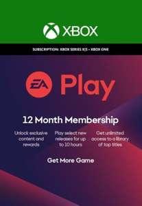 EA Play 12 meses Xbox Live Key GLOBAL