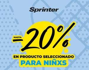 Sprinter 20% de descuento