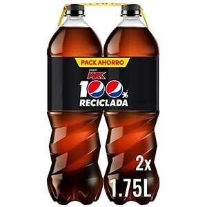 8 botellas de Pepsi Zero Max 1,75L