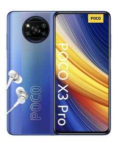 POCO X3 PRO Smartphone 8GB+256GB, con auriculares