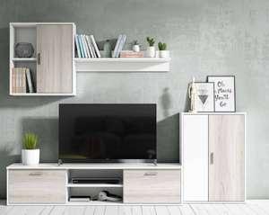 Conjunto Mueble TV Para Salón Comedor [2 Colores]