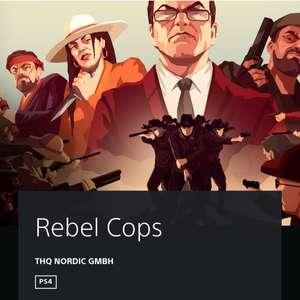 Rebel Cops, PS4 digital