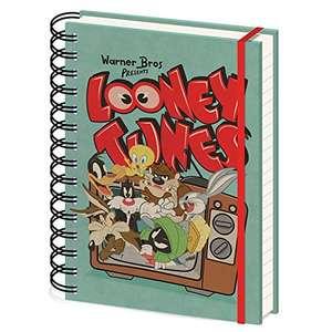 Cuaderno de notas A5 Looney Tunes