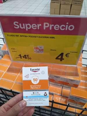 Protector solar Eucerin (Carrefour Murcia)
