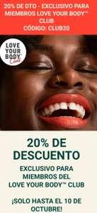 -20% En The Body ShoP
