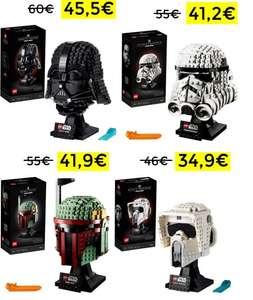 Preciazos en Cascos Lego Star Wars