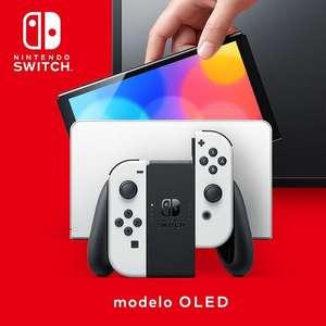 Consola - Nintendo Switch OLED - Azul y Rojo Neón o Blanca