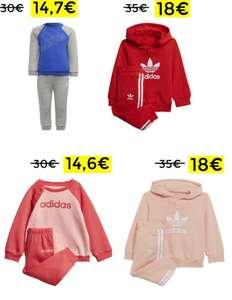 Sudadera y pantalón Adidas para niños desde 14,7€