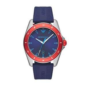 Emporio Armani Reloj Analógico para Hombre de Cuarzo con Correa en Silicona AR11217