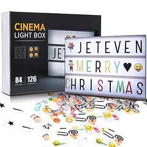 Caja de Luz A4 con 210 Letras y Emojis. USB