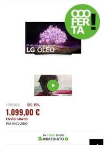 LG Oled 55C14Lb 4K Smart TV
