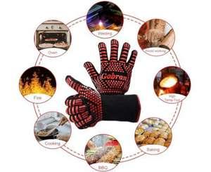 Guantes de Barbacoa/Horno/Cocina resistentes al calor hasta 800°C
