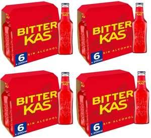 [Pack de 24 x 200ml] Bitter Kas sin alcohol Bebida Refrescante