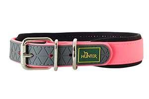 Hunter - Collar perro Convenience Comfort 27-35 cm en color rosa