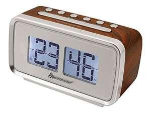 Radio Despertador con Altavoces Soundmaster