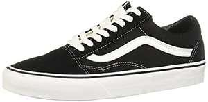 Vans U Old SKOOL Black/White, Zapatillas Bajas Mujer