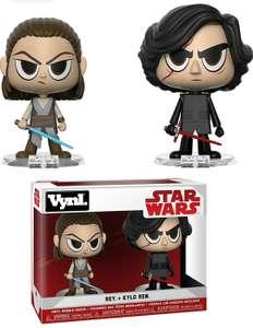 2 figuras Funko Pop Vynl Rey + Kylo Ten Star Wars