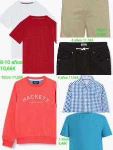 Ropa infantil de marca(Tommy, Pepe Jeans y Hackett London) por menos de 12€