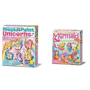 Doble Pack Moldea y Pinta Unicornios y Sirenas
