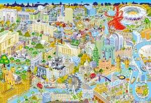 Puzzle con diseño de Londres (500 Piezas)