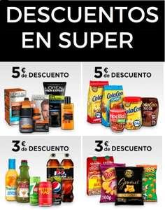 Descuento acumulables en Supermercados El Corte Inglés