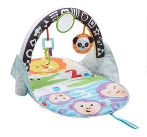 Fisher-Price Gimnasio activity 2 en 1, manta de juego para bebé